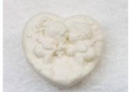 סבון לב מלאכים לבן כותנה