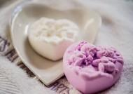 סבון לב מלאכים סגול