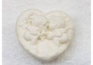 סבון לב מלאכים לבן פרובנס