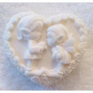 סבון לב שדונים לבן פרובנס