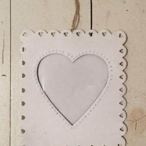 מסגרת לתמונה פח לבבות
